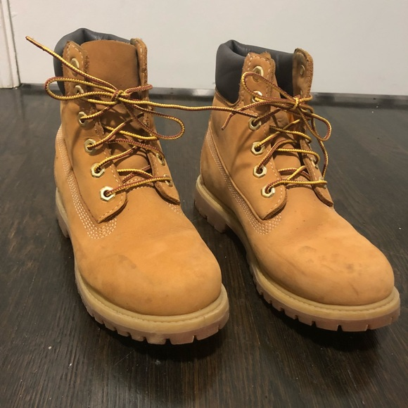 Timberland Boots Wheat Nubuck Color